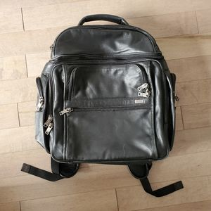 Black Tumi backpack